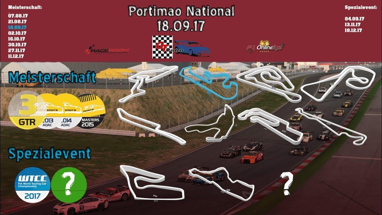 F1-Onlineliga.com / ADAC GT-Masters Season 2 - 3. Lauf Portimao / Race 2