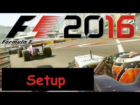 F1 2016 | Australia Setup Online