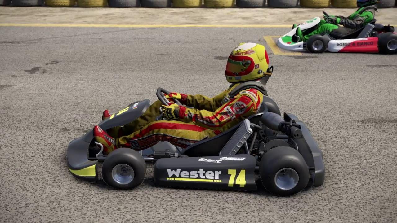 PS4 PROJECT CARS 2 Europa Kart Meisterschaft