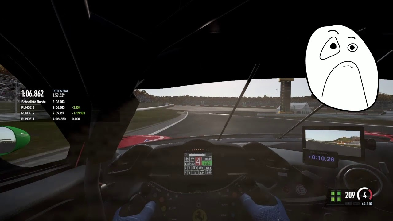 PS4/PCARS/GT3 Nürburgring  Hauptrennen Slow-Mover