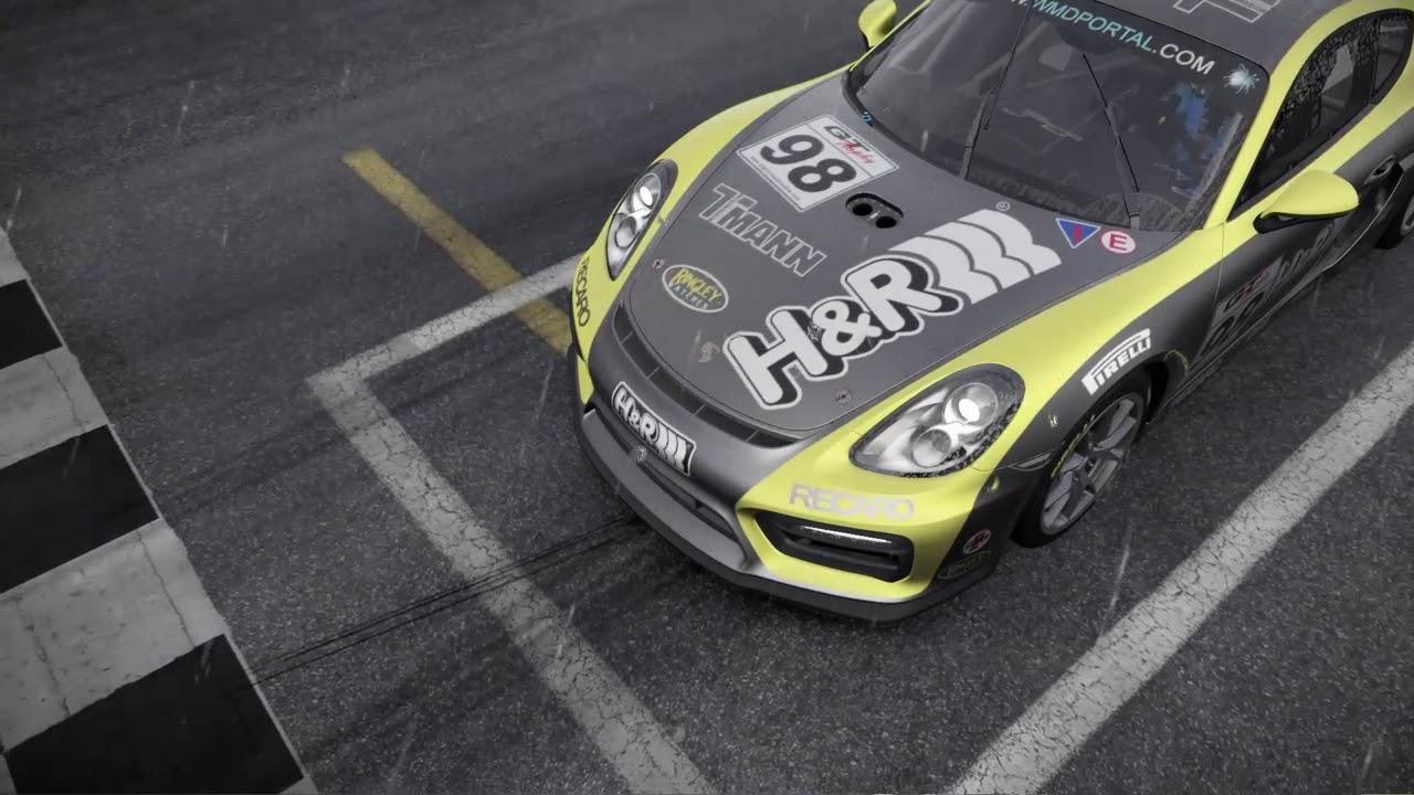 PCARS2 GT4 European Cup Rennen 1&2