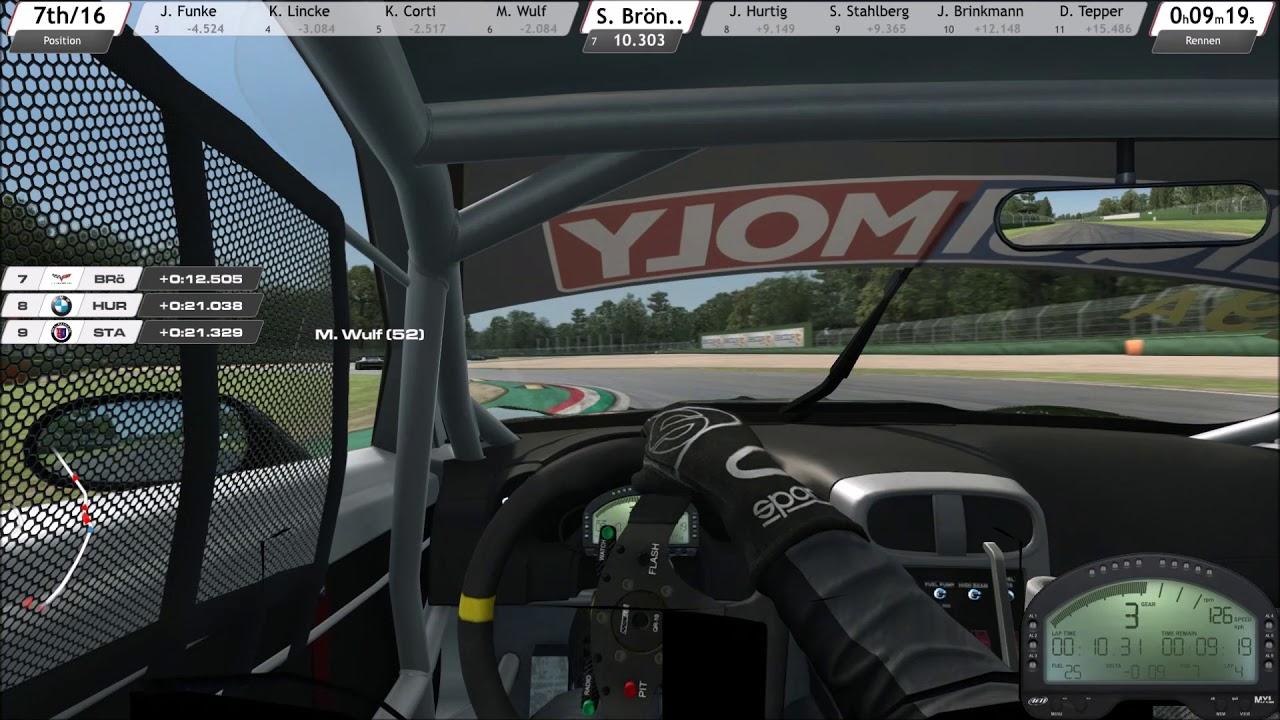 R3E Sonderevent Imola Rennen 1von3 15min