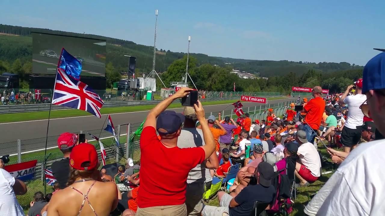Spa-Francorchamps 28.08.2016 F1 Bronze Viewpoints Fr/Sa/So Formel 1 F1 2016